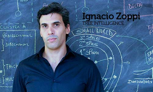 Palestra com Ignacio Zoppi, co-founder e CEO da Tree Intelligence