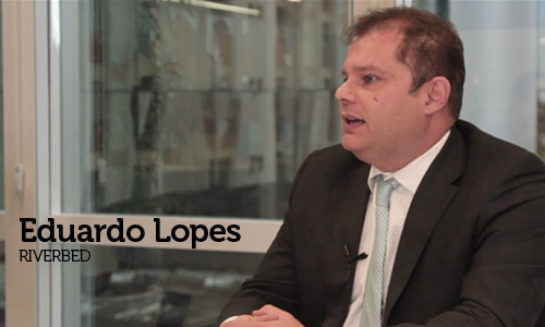 Entrevista com Eduardo Lopes, Country Manager da Riverbed