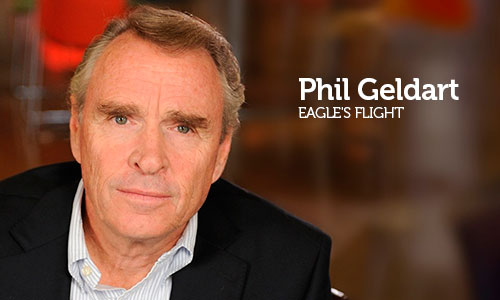 Entrevista com Phil Geldart, CEO da Eagle's Flight